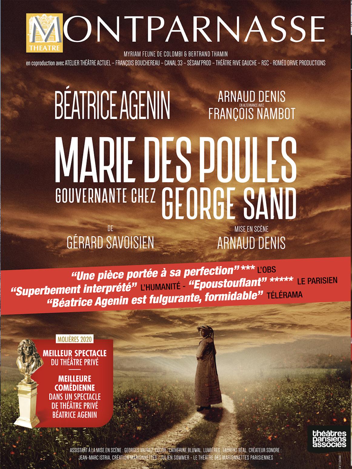 Marie des Poules, gouvernante chez George Sand